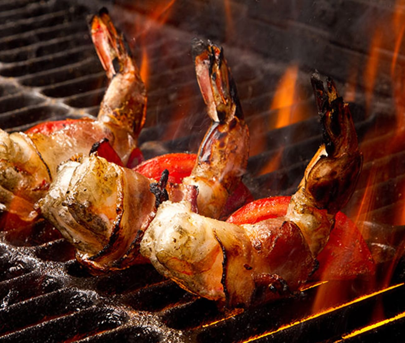 Image for Bacon-Wrapped BBQ Shrimp