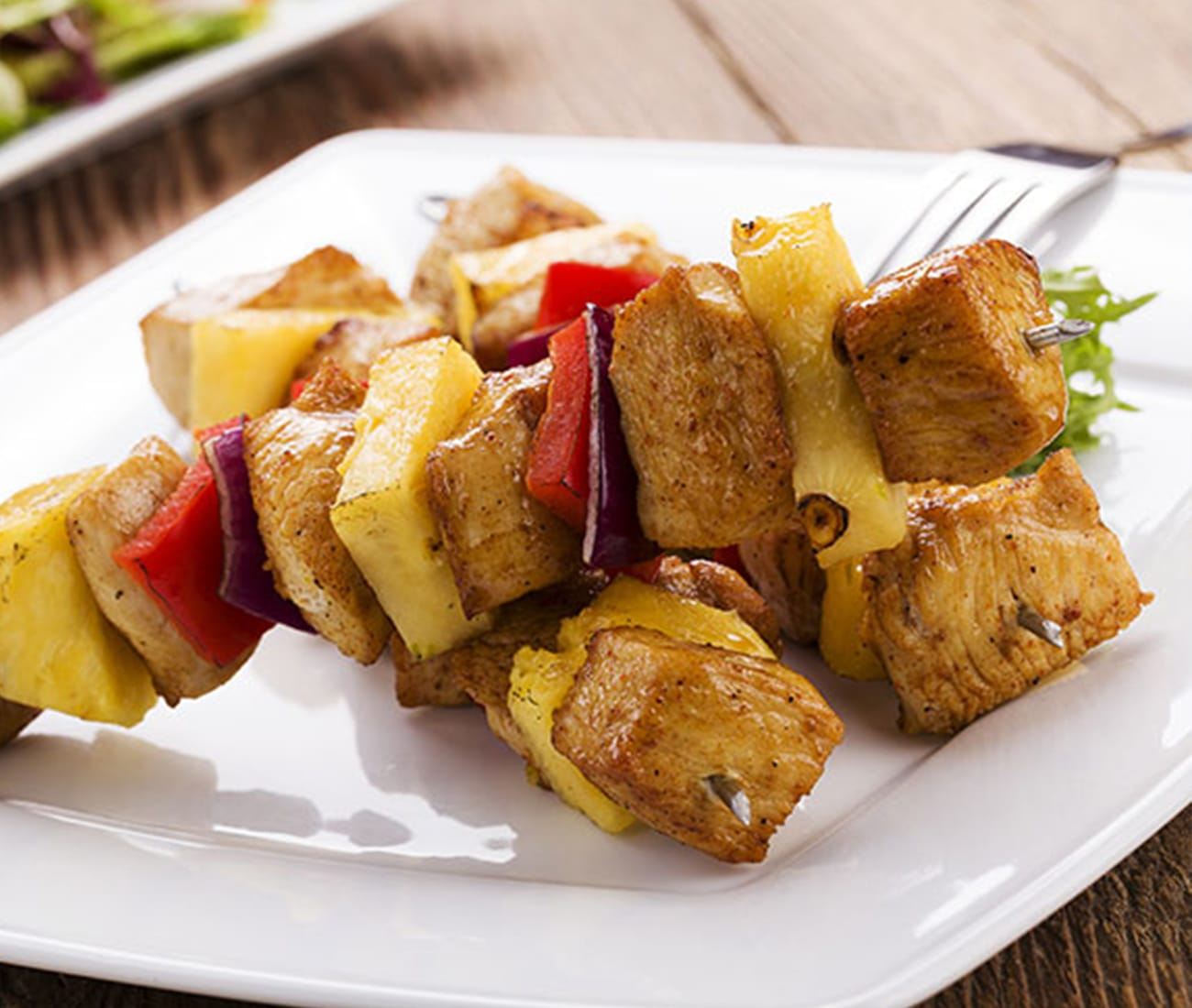 Image for Chicken & Pineapple Skewers