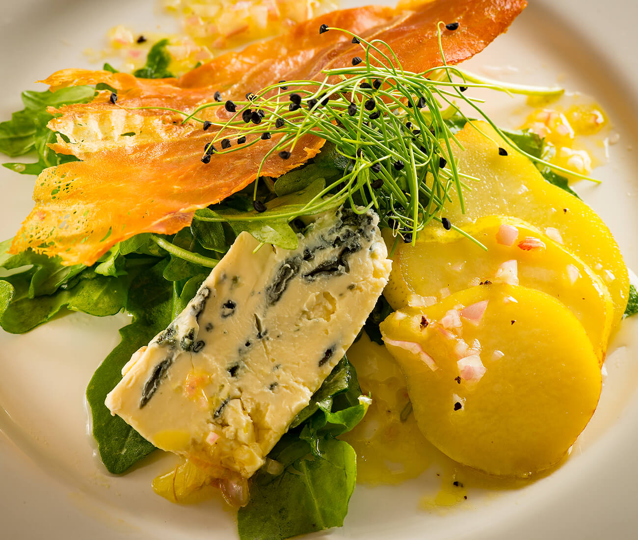 Image for Arugula, Asian Pear & Prosciutto Salad