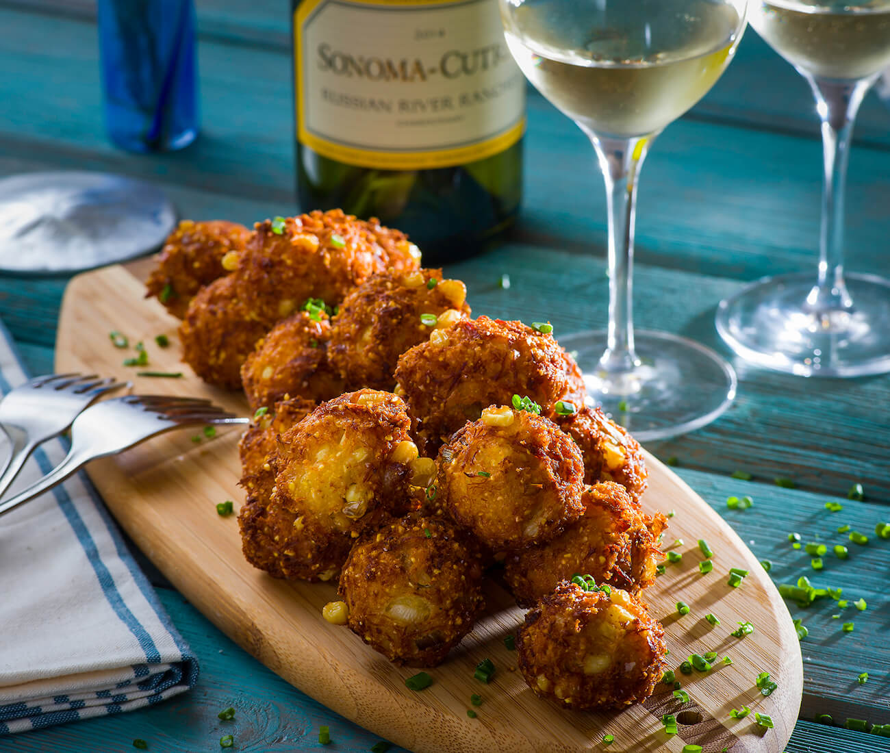 Image for Corn Crab Fritters