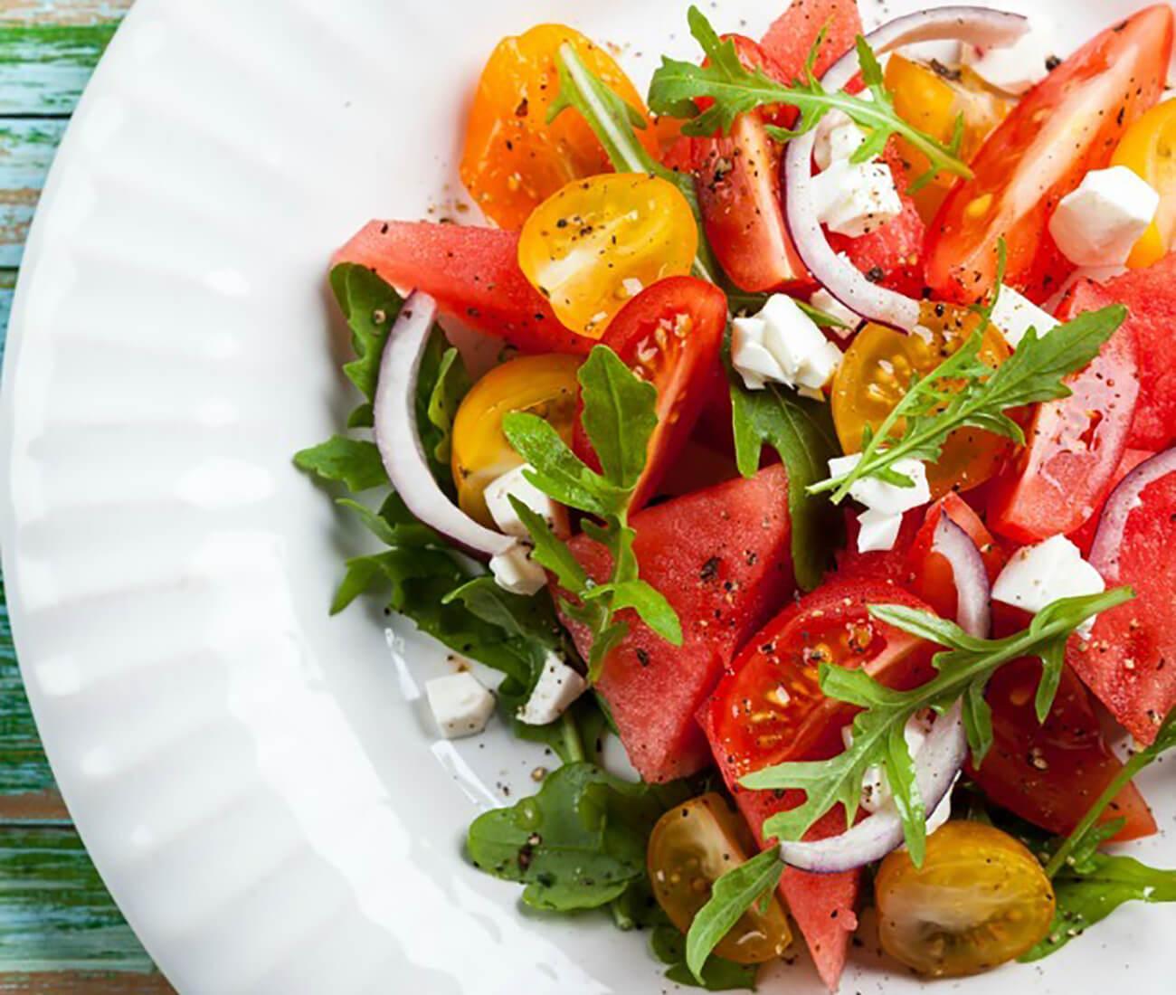 Image for Tomato & Watermelon Salad